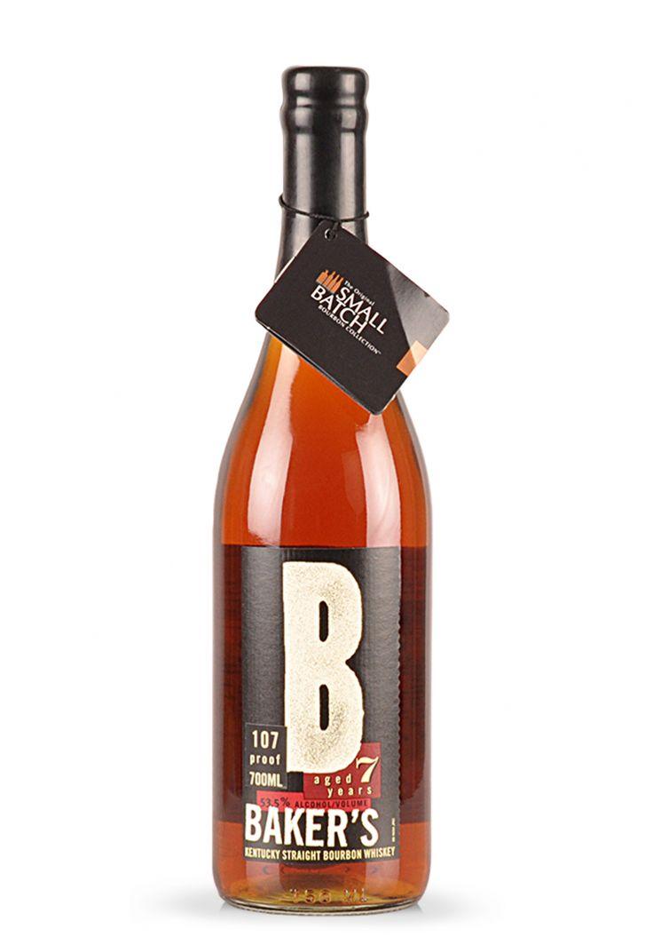 Whisky Baker's, Kentucky Straight Bourbon (0.7L) - SmartDrinks.ro