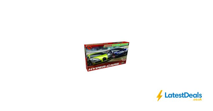 Micro Scalextric 1:64 Scale Hyper Cars Race Set, £25.86 at Amazon UK