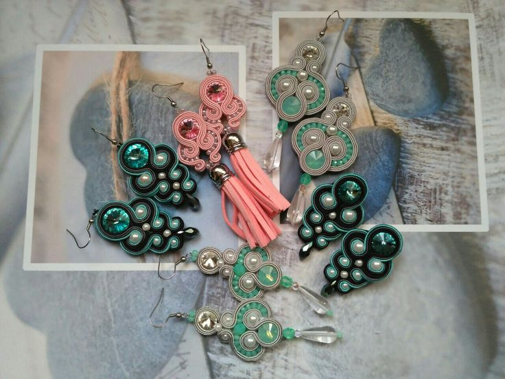 Soutache earrings... I 💜 my hobby