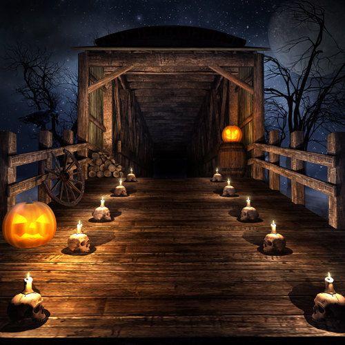 halloween theme photo editor
