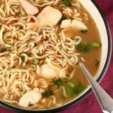 0 Carb Ramen Soup with 0 calorie shiratake noodles (5 calories per serving) skinny detox soup