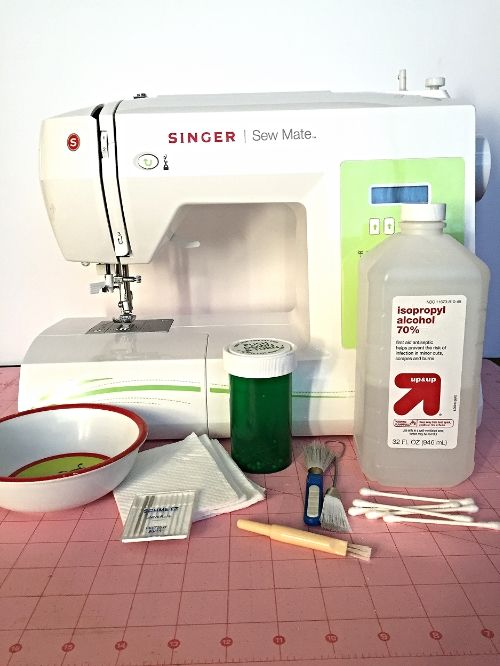 Basic Sewing Essentials - How to Clean Your Sewing Machine