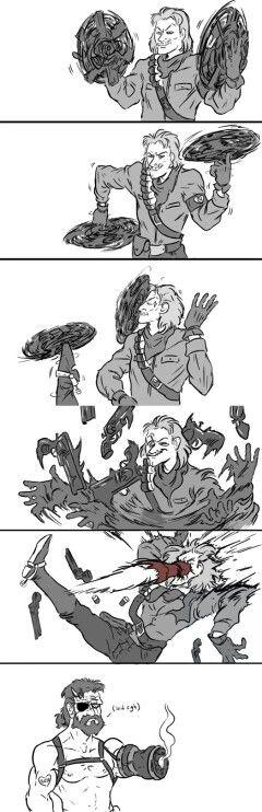 Even MGSV Ocelot is arrogant sometimes