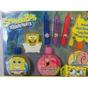 Spongebob Squarepants Tub Toy Gift Set