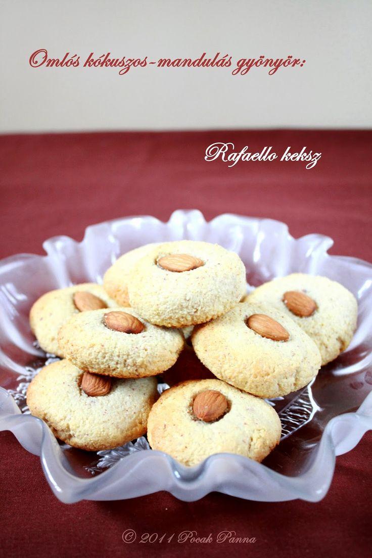 Pocak Panna paleo konyhája: Rafaello kekszek (paleo)
