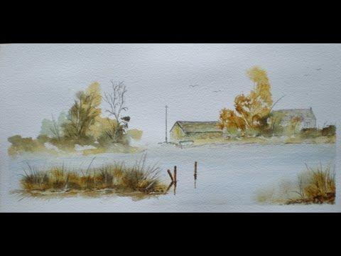 17 Best images about Watercolor Landscape tutorials on Pinterest ...
