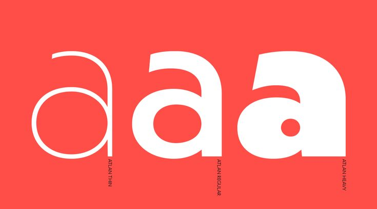 Atlan Font Family from Latinotype