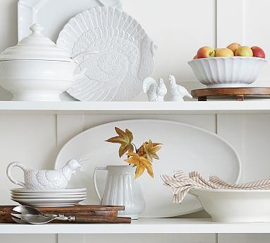 Figural Turkey Small Platter