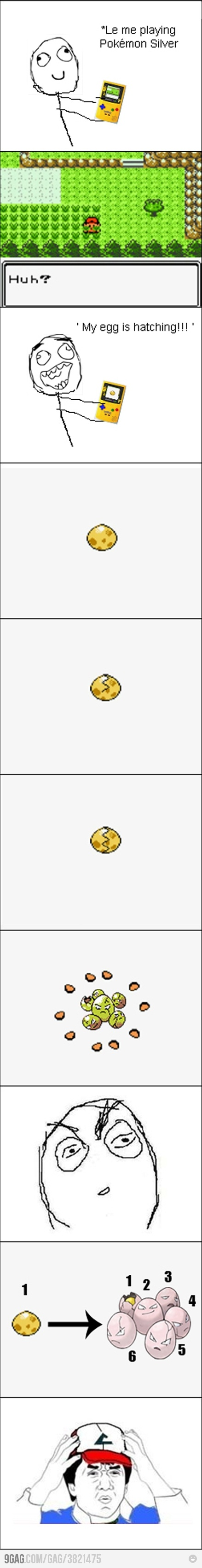 Pokémon argent sur game boy color... Que de bon souvenirs même s'il y avait des couacs