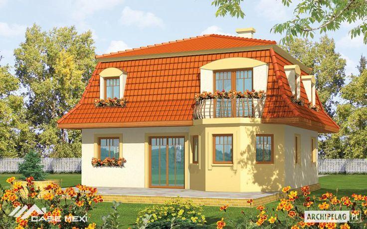 Cladirea se bazează pe un plan patrat, si ofera camere cu forme regulate. Peretii interiori se alătura, de asemenea la un unghi drept, facilitând astfel aranjamentul ulterior.