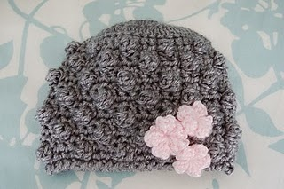 Bobblicious baby hat....great for girl baby shower gift!