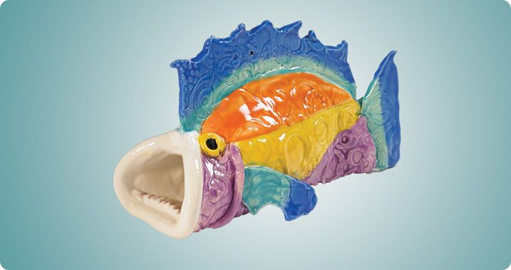 Taco Fish | clay projects | Art lessons elementary, 3rd ...