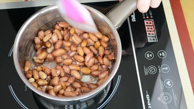 Como hacer Garrapiñadas - Recetas de postres (y panes)