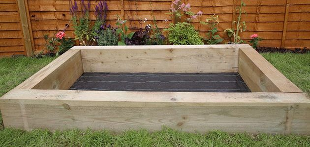How to build a sandpit | Wickes.co.uk More