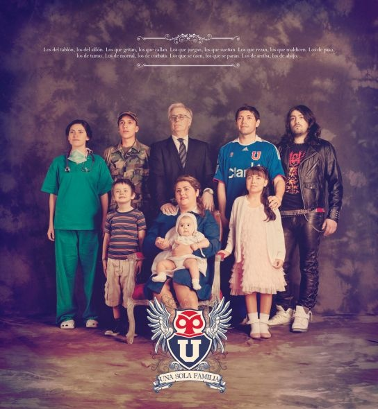 Universidad de Chile Football Club. Una sola familia.