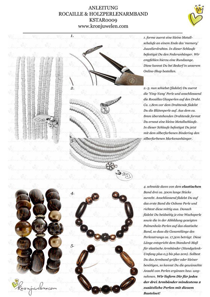 Hochwertig Anleitung Gwen Stefani Neonarmband Von Kronjuwelen.com Seite 1 Von 3 |  Schmuck Selber Machen