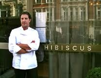 Hibiscus by Claude Bosi. Michelin two star restaurant, Mayfair, London