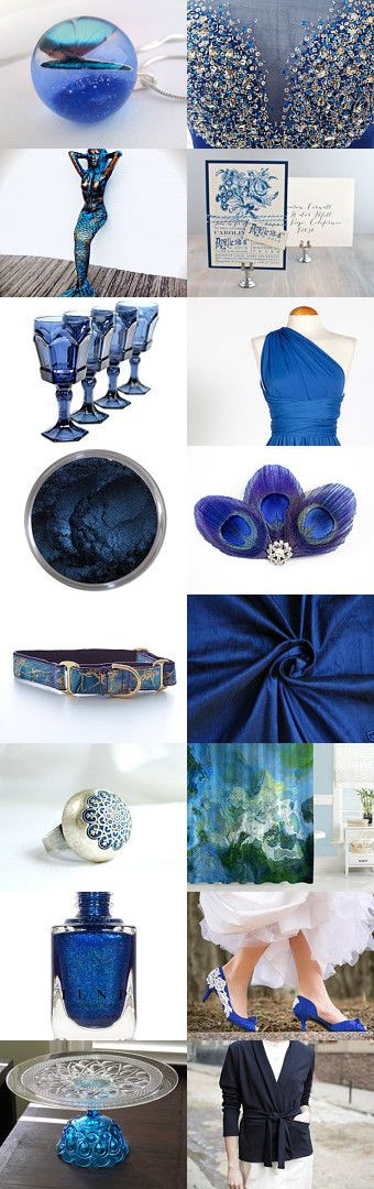 "Royal blue by Viktoria Schuster on Etsy--Pinned with TreasuryPin.com  ""And we'll never be royals It don't run in our blood, That kind of luxe just ain't for us. We crave a different kind of buzz"" /Lorde: Royals  azure blue bridal butterfly chic cobalt elegant evening mermaid navy night party peacock posh prom royal shabby chic silk"
