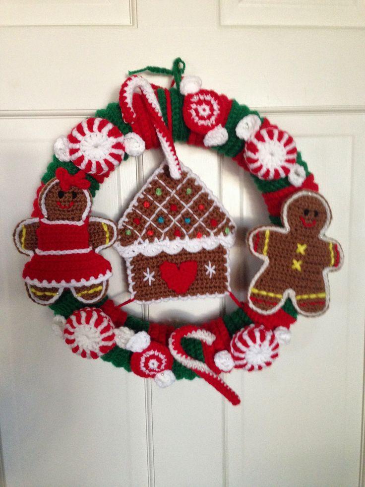 Best 25 Crochet Wreath Ideas On Pinterest Crochet