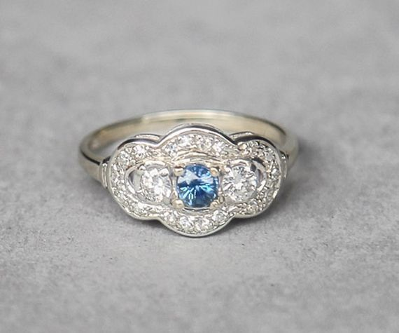1077 best Pretty Blue Rings images on Pinterest Rings