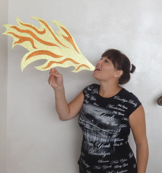 Inspired by How to Train your Dragon Photo Booth Props. Dragons fire so cute create lasting fun memories dragons breath