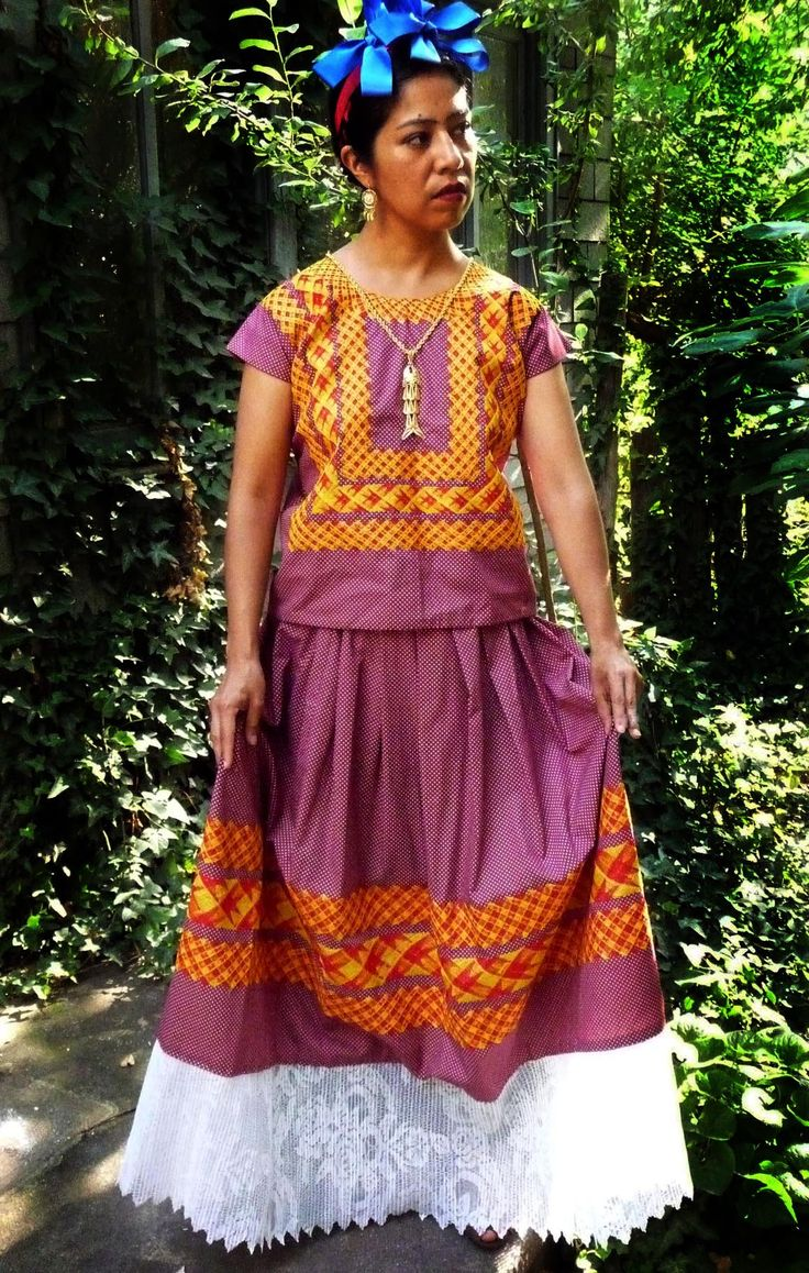 Traditional Huipil mexico