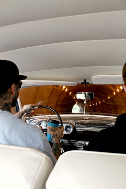 Road trip! via Wish List : Catherine Masi  #SebastianOrth + #JMedina + 53 Chevy