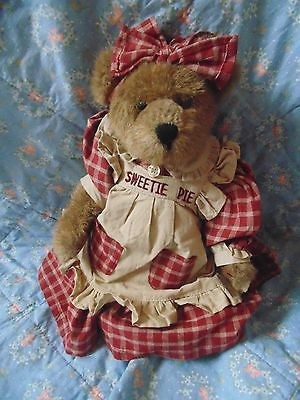 "Boyds Bears Sweetie Pie 12"" VGU Bear Aunt Becky Bearchild"