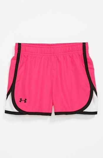 Under Armour Mesh Panel Shorts (Toddler Girls) | Nordstrom – RUNNING CLOTHES!