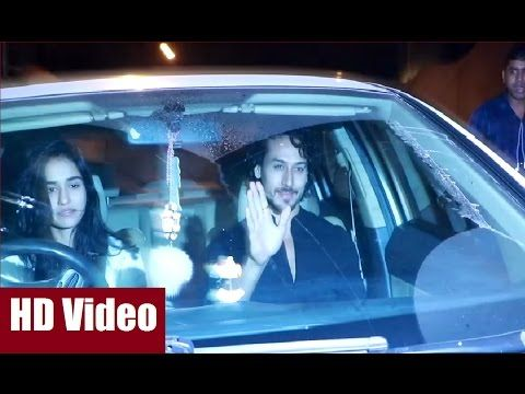 Tiger Shroff with Girlfriend Disha Patani spotted on a Dinner Date | Bollywood News Villa.