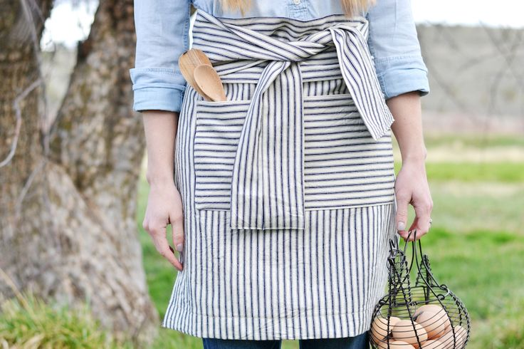 There's something about a linen apron that just speaks to my soul. I love the simple design of aprons, and every time I wear...