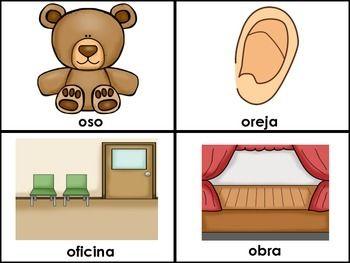 Letra-O-Las-Vocales-Spanish-Flashcards-for-the-Letter-O-1261971 Teaching Resources - TeachersPayTeachers.com