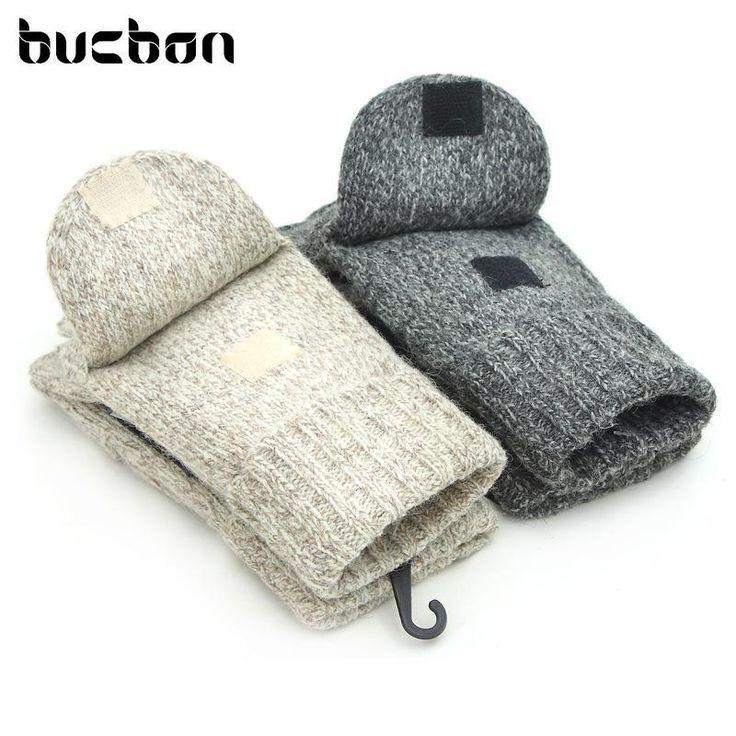 Winter Fashion Men Women Gloves Cashmere Warm Wool Mittens Half Finger Glove Luvas Feminina Wrist Warmers WX-AGB365