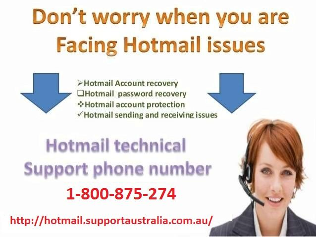 Contact Hotmail tech support team for hotmail account related help. If you need any assistance then simply dial our foll-free number 1-800-875-274 and get instant help from us.