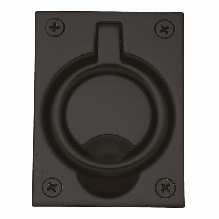 Baldwin 0395 2 1 2 Inch X 3 5 16 Inch Flush Cabinet Pull Oil Rubbed Bronze Pocket Door Lock Flush Pull Flush Oil Rubbed Bronze Bronze Solid Brass