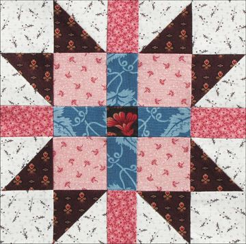 New England Block by Becky Brown  New England Block can remind us of Louisa May Alcott's and her fellow New Englanders' early enthusiasm ...