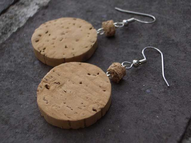Champagne Cork Earrings project