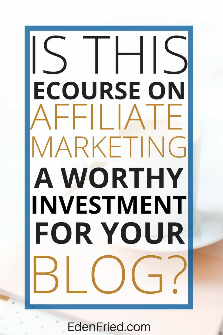 Check out my exclusive review on the ecourse Making Sense of Affiliate Marketing taught by Michelle Schroeder-Gardner who earns over 50k online via affiliate relationships.