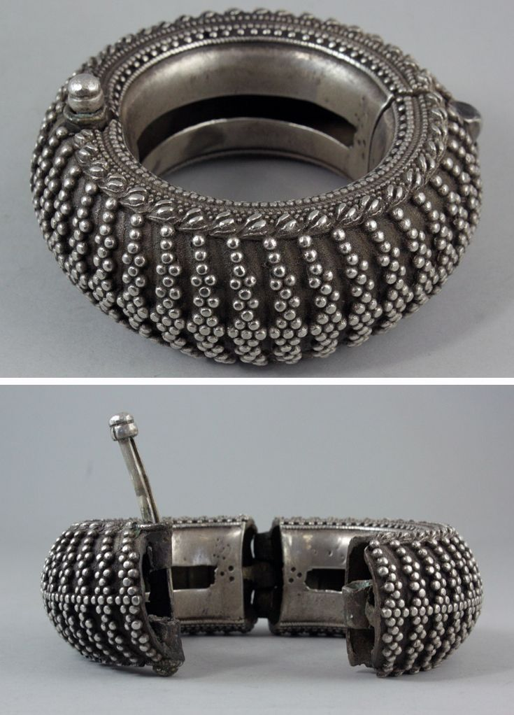 India | Silver bracelet from Rajasthan | 19th century | 150£ (Nov '11) Unsold
