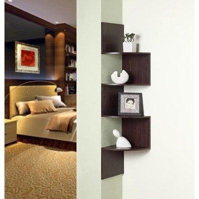Amazon.com: 4D Concepts Hanging Corner Storage - 99300: Furniture & Decor: Hanging Corner, Concept Hanging, Corner Bookshelf, Living Room, Corner Bookshelves, Corner Storage, Furniture Decor, Corner Shelves, Master Bathroom