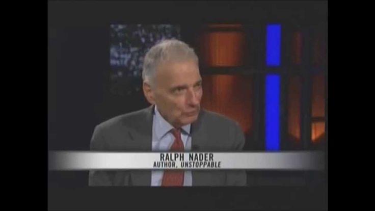 Ralph Nader vents his fury to Bill Maher at the Washington consensus