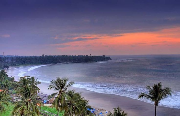 Sunset View at Anyer Beach