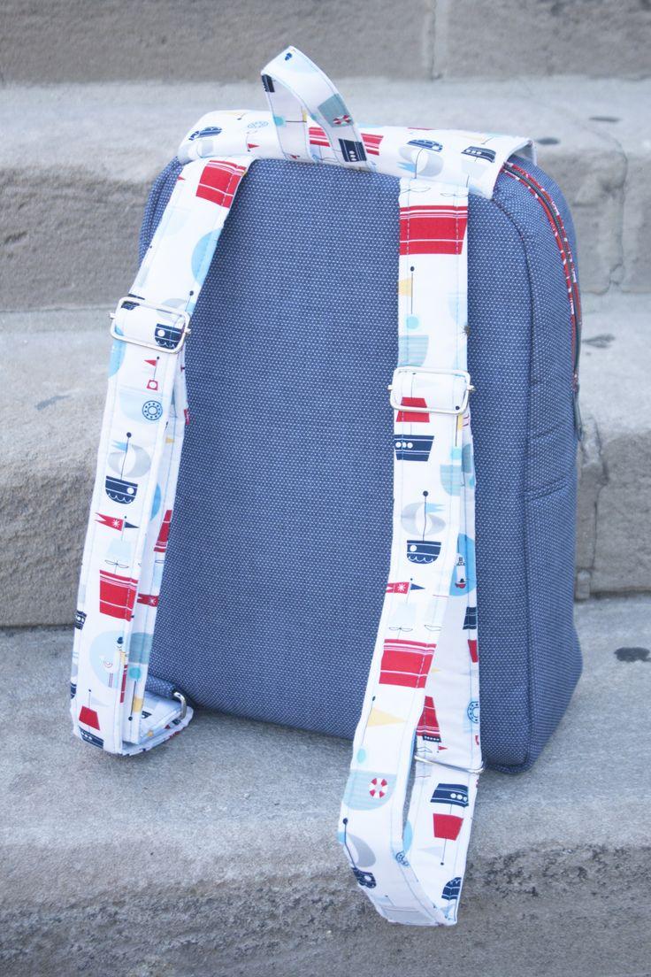 Sew Sweetness Edelweiss Backpack sewing pattern
