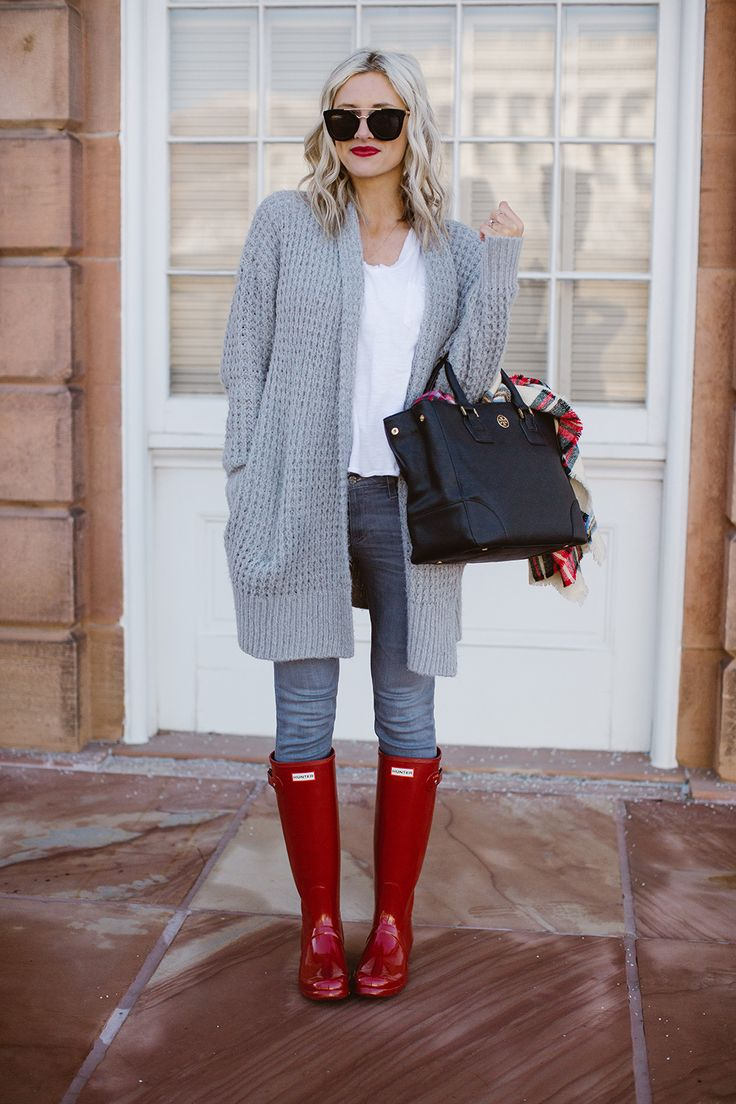 1000+ Ideas About Rainy Day Outfits On Pinterest | Rainy Day Fashion Black Hunter Boots And ...