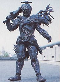 Bai Lai is a Rinshi who holds the spirit of the Crow, emulating it in the aggressive airborne moves with his broadsword. Bai Lai is dark colored and has an extended left wing, complimenting Carden's light coloring and right wing, Bai Lai also has a skull-like face. He was one of Carnisoar's two servants along with Carden, and they created a vortex that would wipe out the entire city. The first time they fought the Rangers, the rangers were defeated because they flew, something that the...