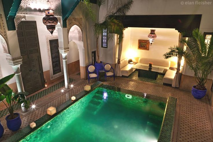 Riad Farnatchi, Marrakech, Morocco: Riad Farnatchi, Farnatchi Riadmarrakech, Favorite Places, Favourit Marrakech, Hotels Pools, Dreams House, Pools Table, Favourit House, Luxury Hotels