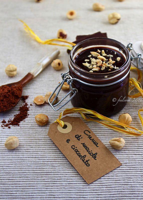 Crema di nocciole e cioccolato