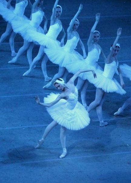 Svetlana Zakharova in Bolshoi's Swan LakePhoto by Damir Yusupov