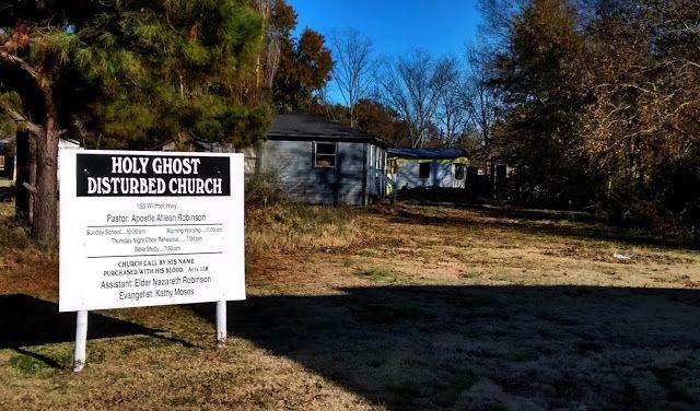 Living Rootless: Bonita, Louisiana: Holy Ghost Disturbed Church