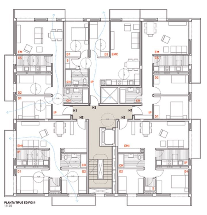 Social housing in Sentmenat  ~ Great pin! For Oahu architectural design visit http://ownerbuiltdesign.com